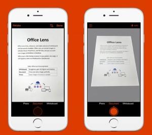 App gratuita per iPhone_Office Lens