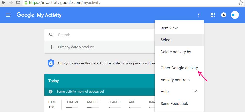 attività di google