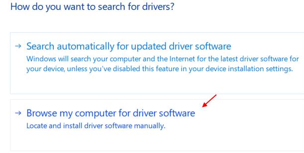 Sfoglia il software del driver del computer