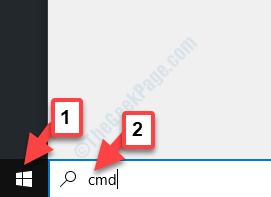 Cmd di ricerca desktop home