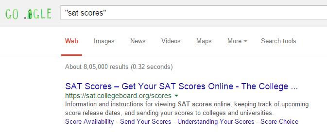 ricerca stringa esatta in google
