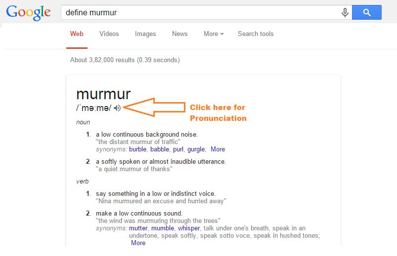 Dizionario di google