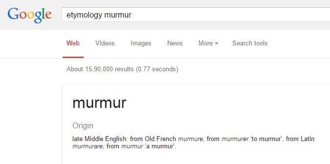 Conosci l'origine della parola google