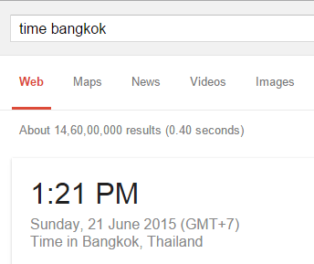 google-local-time
