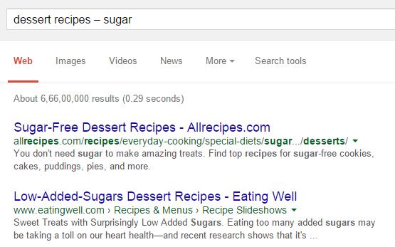 escludere-alcuni-termini-google