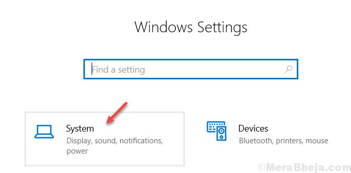 Configurazione del sistema Windows 10 min