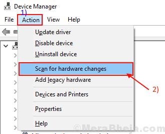 Trova cambio hardware