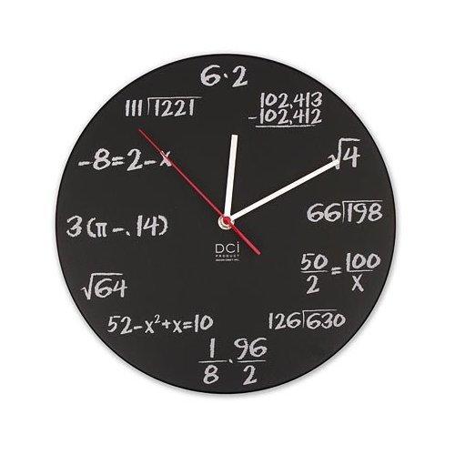 orologio di matematica