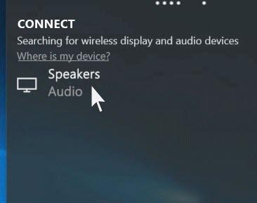 Connetti il Bluetooth già associato