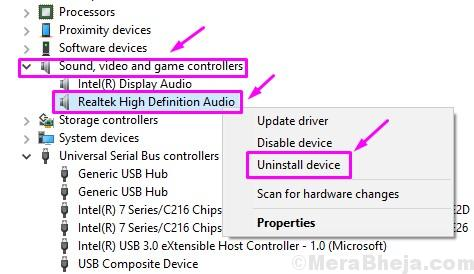 Disinstallare Realtek Hd Audio