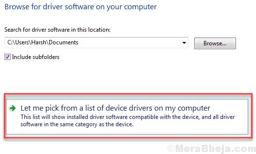 Scegli il driver del computer