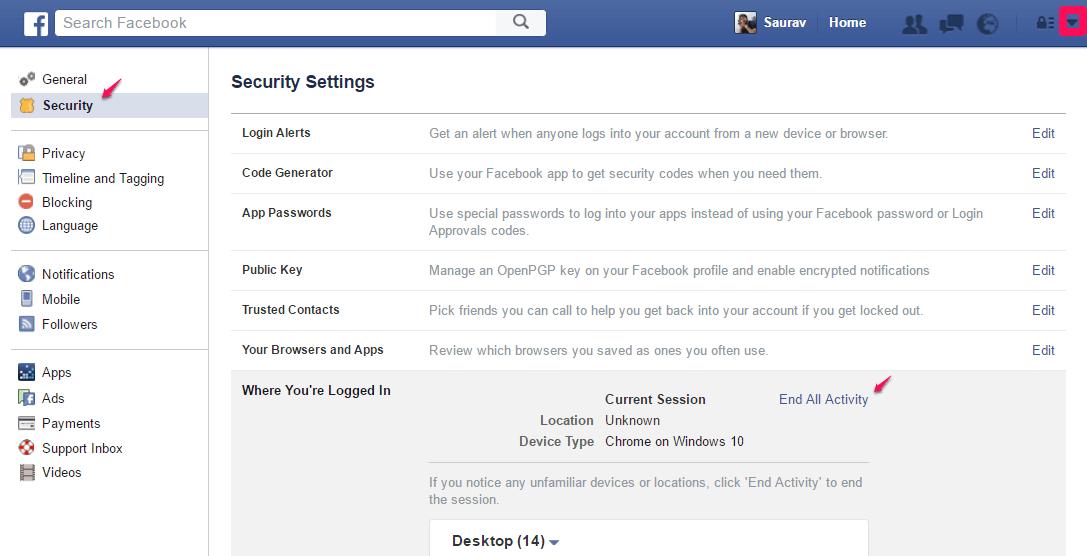 facebook-remote-logout
