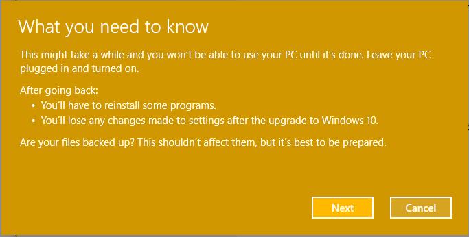 Windows 10 downgrade_6