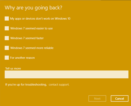 Windows 10 downgrade_5
