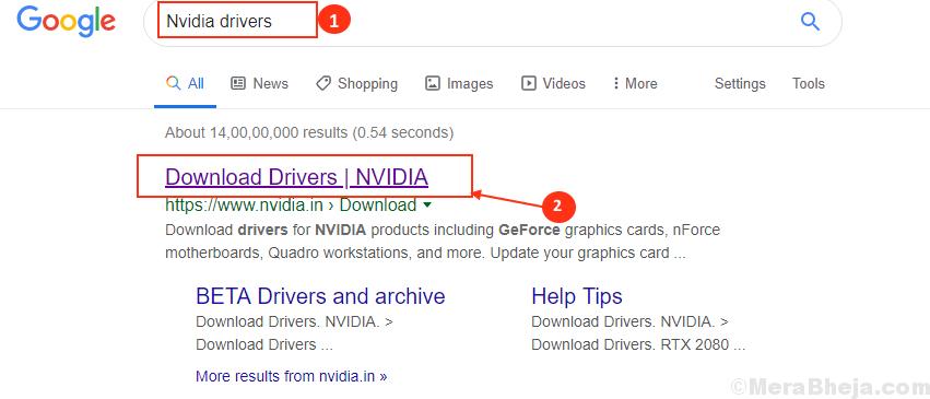 Driver Google Nvidia