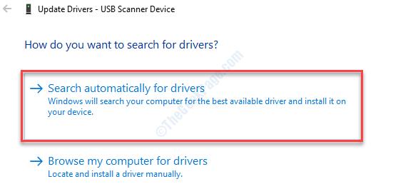 Cerca scanner automatico