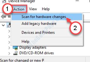Verificare la presenza di nuove modifiche hardware