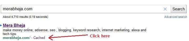 scansione di google