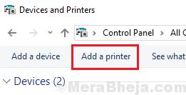 Aggiungi una stampante