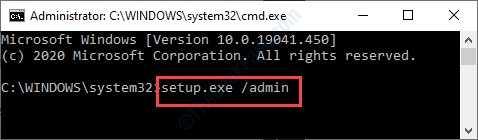 Configurare Exe Admin