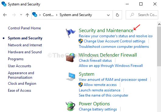 Sistema e sicurezza Sicurezza e manutenzione
