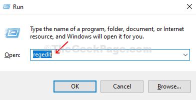 Premi Windows + R sulla tastiera, apri la casella Esegui, inserisci Regedit