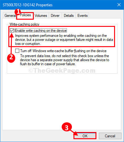 Criteri Gestione dispositivi HDD