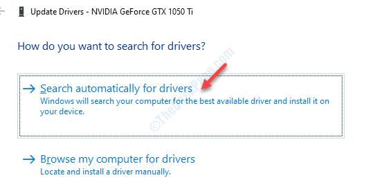 Trova driver grafico automatico