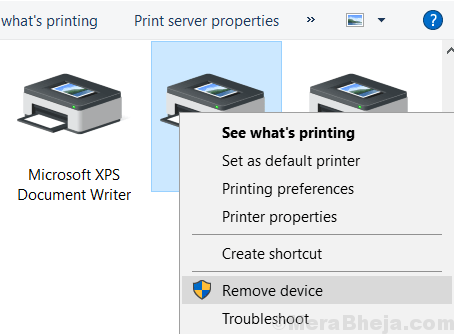 Rimuovi stampante min.  (1)