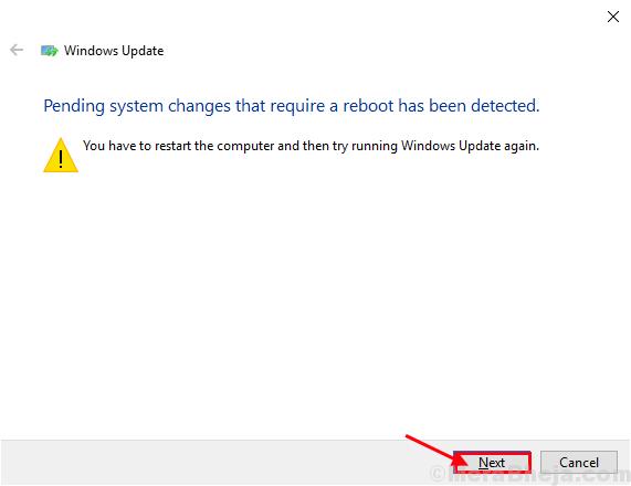 Risoluzione dei problemi di Windows Update2