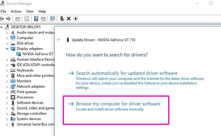 Aggiorna la correzione manuale Il programma di installazione di Nvidia non può continuare Errore di Windows 10