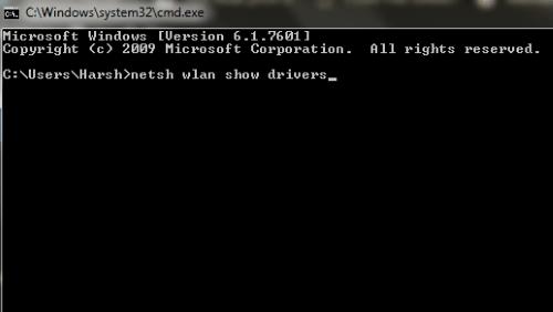 Cmd1 5ghz Wifi non viene visualizzato Windows 10