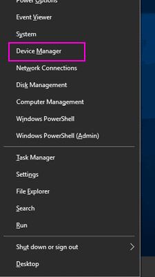 Win + x 5 ghz Wifi non visualizzato Windows 10