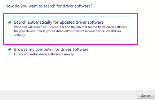 Ricerca automatica Wi-Fi a 5 ghz non visualizzata su Windows 10
