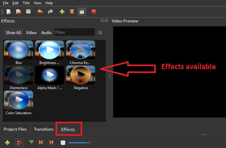 Dai effetti al video