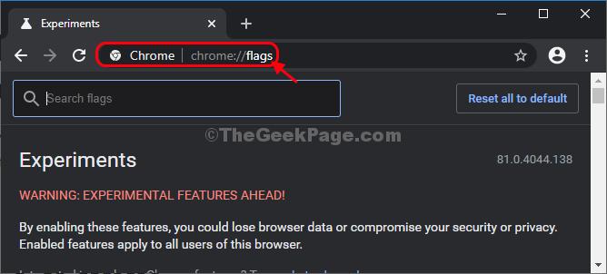 Bandiere di Chrome