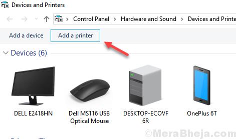 Aggiungi una stampante minima