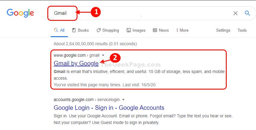 Ricerca in Gmail
