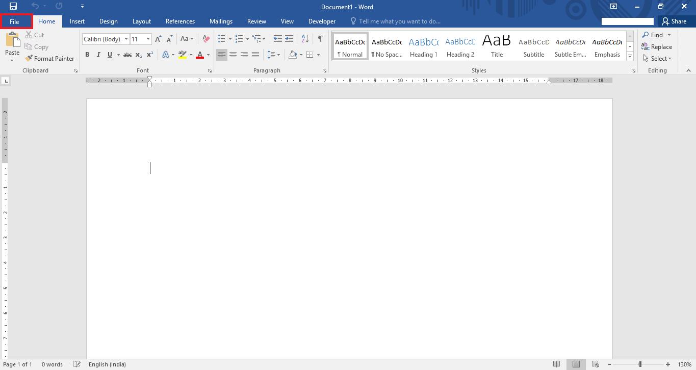 invia-word-documento-email allegato-Word-2016-2