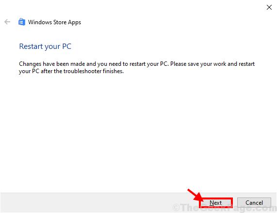 Riavvia il tuo PC