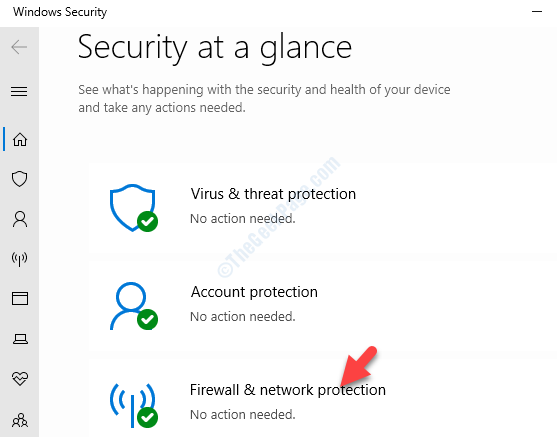 Protezione di Windows Security in breve Firewall e protezione di rete