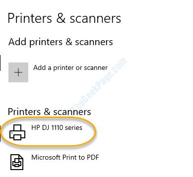 Vedi la stampante