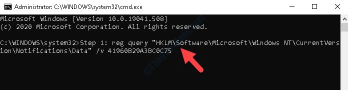 Prompt dei comandi (admin) Eseguire il comando per abilitare Cldflt Enter