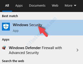 Tipo di avvio Windows Defender Protezione di Windows