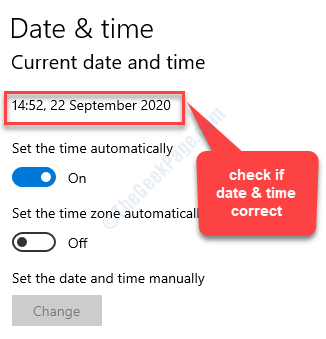 Ora e lingua Data e ora Verificare che la data e l'ora siano corrette