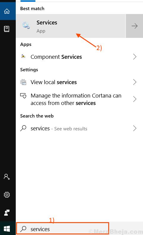 Ricerca servizi