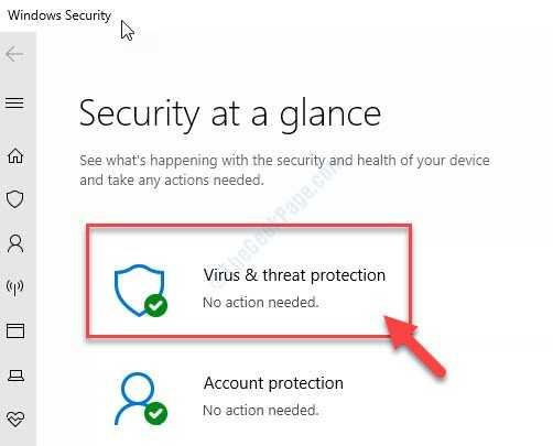 Protezione contro virus e minacce