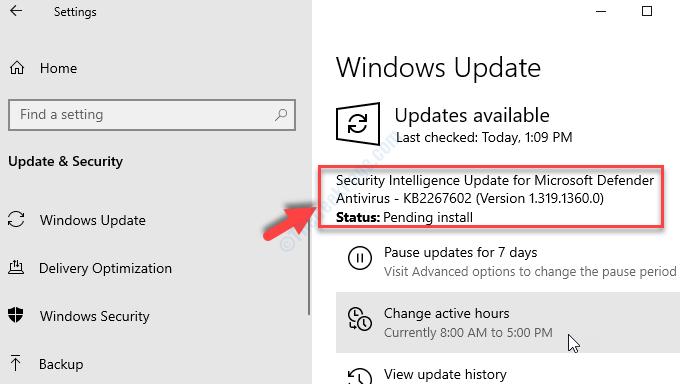 Avvia il controllo degli aggiornamenti se l'aggiornamento di Windows disponibile viene scaricato e installato automaticamente
