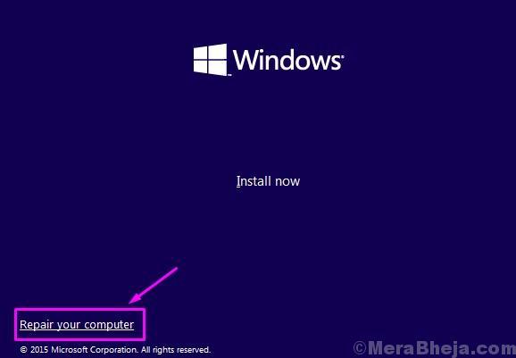 Comp. Riparazione installazione Windows
