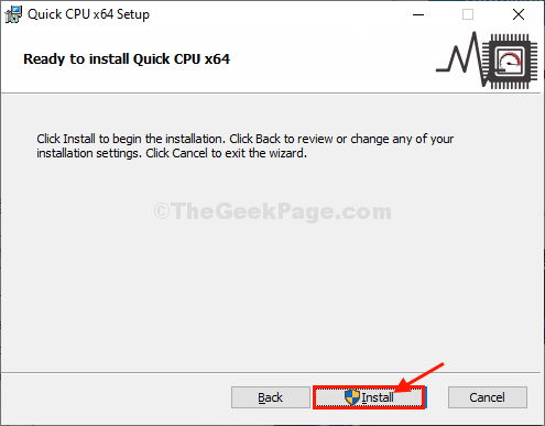 Installa la CPU veloce